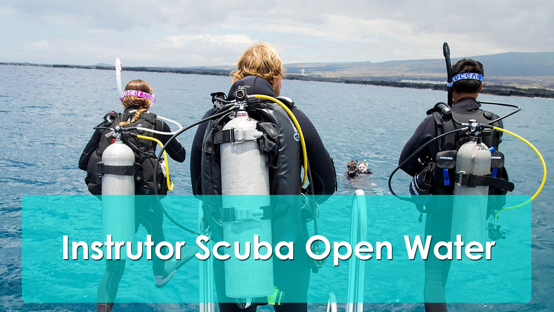 Instrutor Scuba Open Water