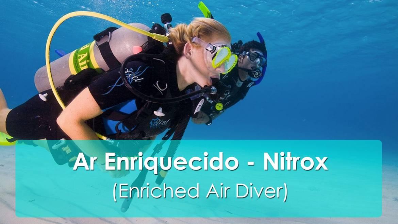 Nitrox e os benefícios do mergulho com ar enriquecido