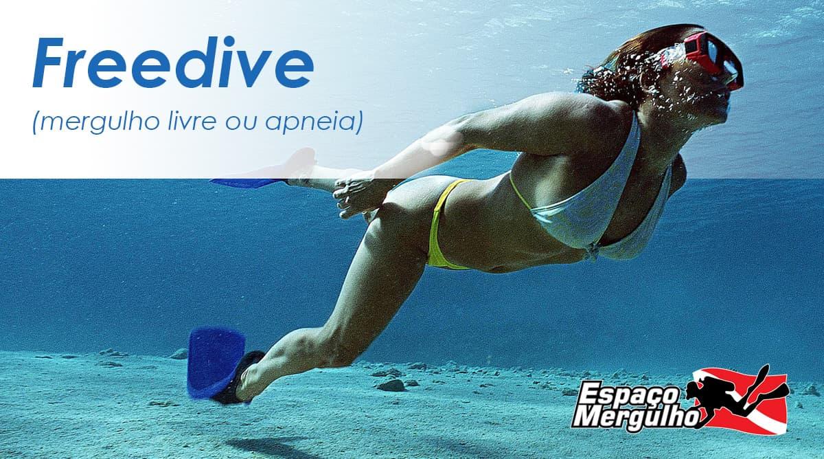 Apneia ou Freedive: você sabe o que é?