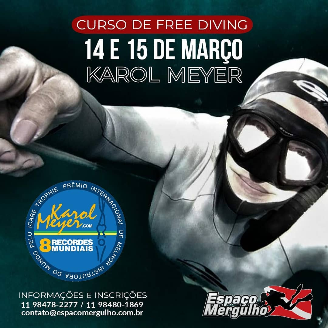 Advanced Freediving com Karol Meyer